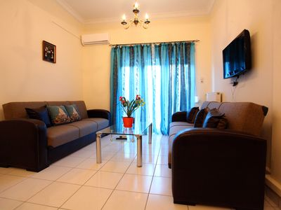Photo for in the center,300 m from sea, few steps old town, free parking wifi foul furnish
