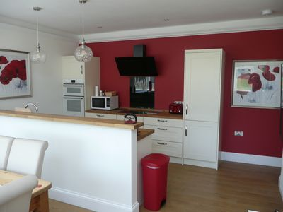 Photo for Luxurious House sleeps up to 7 family & dog friendly,beach 5mins ideal location
