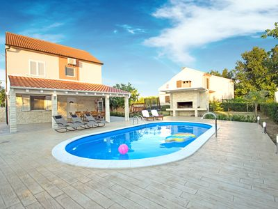 Photo for Villa Maxima • 4 bedroom • Pool • Grill • Terace • Dalmatia