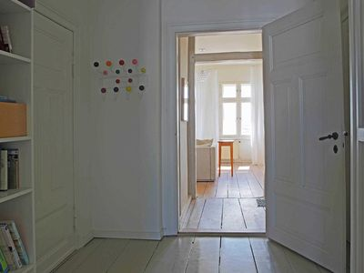 Photo for Himmelwohnung, 2-room apartment - Villa Martha - Holiday apartments with sea view, 1. line