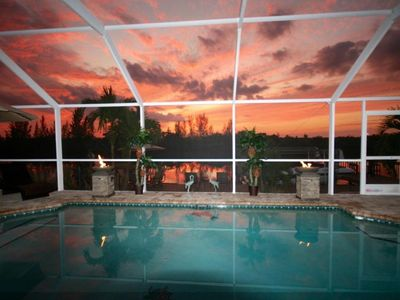 Photo for Private, Luxurious Villa With Pool Overlooking Matlacha Preserve ~ Gulf Access