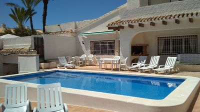 Photo for SPECIAL OFFER - GREAT VILLA WITH POOL A MINUTE WALKING FROM THE BEACHES