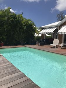 Photo for VILLA KANEL LUXURY IN SECURE RESIDENCE PRIVATE SWIMMING POOL - 300 METERS FROM THE SEA