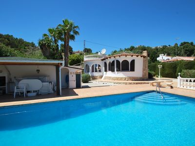 Photo for Villa with private pool in quiet area, summer kitchen,  internet, air condition