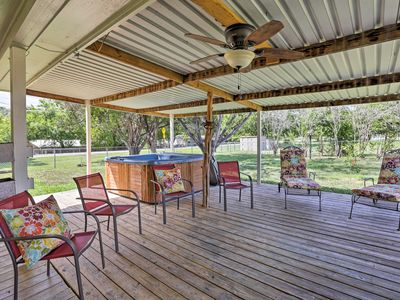 Photo for Canyon Lake Home w/Hot Tub- Walk to the Guadalupe!