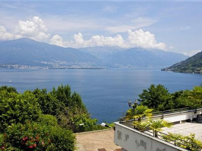 Photo for 1BR Apartment Vacation Rental in Pino sulla Sponda del Lago