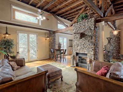 Photo for Hosteeva | Bryson City Loft | 3 BR Luxury Getaway