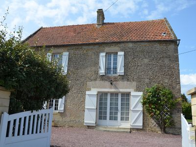Photo for Pretty stone house, 3 bedrooms, 2 bathrooms with a large fenced garden