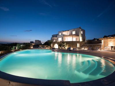 Photo for The Mykonian Escape, Cycladic villa with private pool