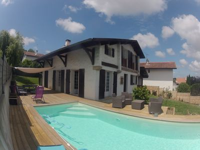 Photo for House with Pool Bayonne Beyris district (limit Anglet)