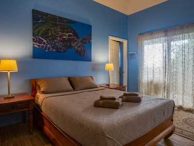 Photo for PRIVATE PARADISE - Your cozy private suite with ocean view - TURTLE SUITE