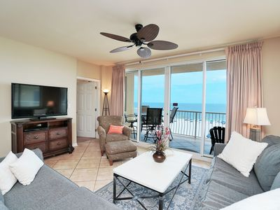 Photo for Gulf Front! Beautifully Decorated, Spacious, & Fabulous Views!