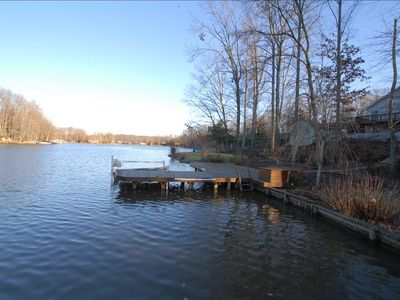 Dock on Private Lake