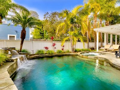 Photo for Private Pool, Hot Tub, Fire Pit, Walking Distance to Beach & Del Mar Track!