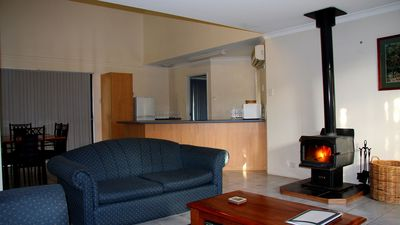 Photo for Bayside Villas 2 Story with spa & log fire