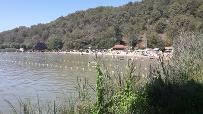 A stunning lake is just 20 minutes drive from the gite.