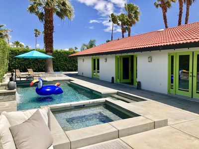 Photo for Stunning Spanish Modern Palm Springs home with Complete Privacy!