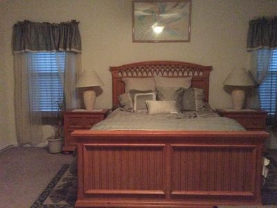 Photo for Single family home with two master suites.