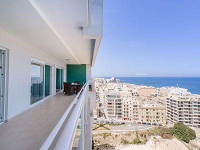 Photo for SEAFRONT LUXURY APARTMENT incl POOL