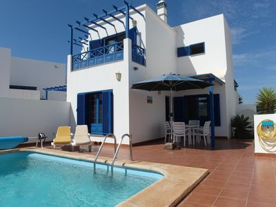 Photo for Holiday house Playa Blanca for 2 - 6 persons with 3 bedrooms - Luxury holiday home