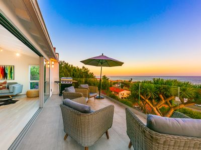 Photo for 20% OFF JULY  - Spectacular Ocean View Home w/ Outdoor Living, Spa + A/C