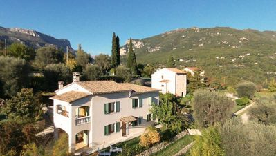 Photo for LA PASCALINE - LOCATIONS-06 - FLAT IN VILLA ON TEH FRENCH RIVIERA