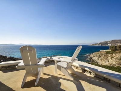Photo for Breathtaking Villa in Aleomandra, Mykonos