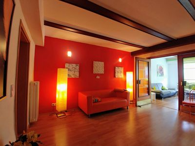 Photo for Welcome to the GUESTHOUSE - KOBLENZ Apartment on the ground floor