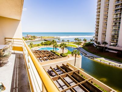Photo for New Updates for 2019! Beautiful Ocean Views - Walk to Barefoot Landing!
