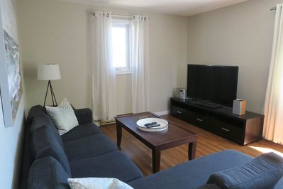 Living Room at 596 Bedford Hwy Flat