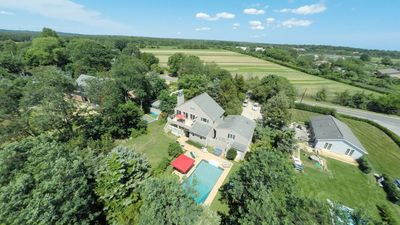 Photo for Amenities Galore in Water Mill: Heated Pool, Hot Tub, Terrace, Sleeps 16, Great for Groups