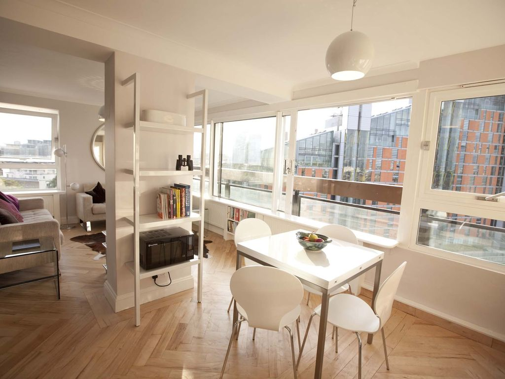 London Calling: Sparkling Two Double-bedroom Riverside Flat ...