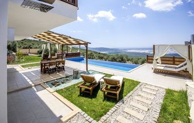 Photo for Rustic 'Get Away From It All' 2 Bedroom Villa with Large Secluded Pool & Garden