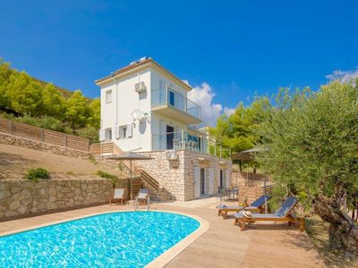 Photo for 3 bedroom Villa, sleeps 9 in Limni Keriou with Pool, Air Con and WiFi