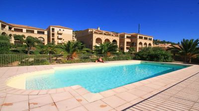 Photo for Apartment 4/5 people, sea view terrace, pool