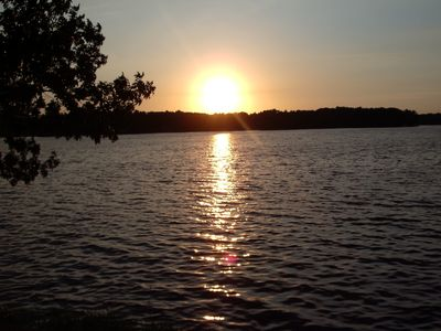 Sunsets from our Deck overlooking Lake Delton
