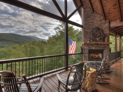 Photo for ♦︎Luxury Cabin in National Forest next to Waterfall Hike, Aska & Toccoa River♦︎