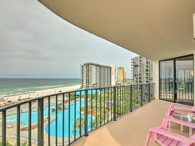 Photo for Beachfront Panama City Condo w/Balcony & Boat Slip