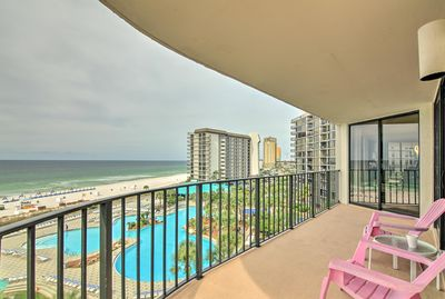 Your perfect Panama City Beach retreat begins with this luxury condo!