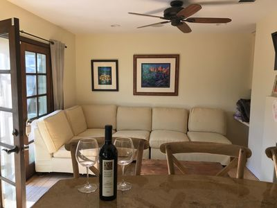 Photo for 3 bed 2 bath Beach cottage 1750 sq ft with  gardens 15  minute walk to the beach