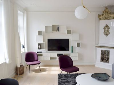 Photo for Beautiful designer apartment in the heart of CPH