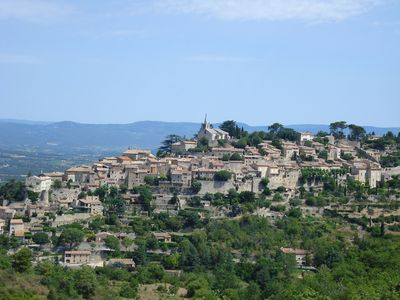 The beautiful village of Bonnieux
