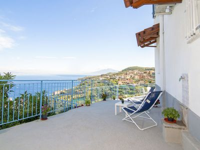 Photo for Apartment New Blue Paradise in Massa Lubrense - 4 persons, 1 bedrooms