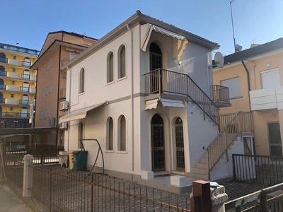 Photo for Apartment 30 meters from the sea in Piazza Marconi area