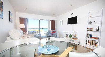 Photo for 8 The Point is a stunning apartment overlooking the ocean and Fistral Beach