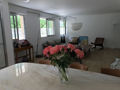 Photo for Large luxury apartment with terrace in the heart of Paris