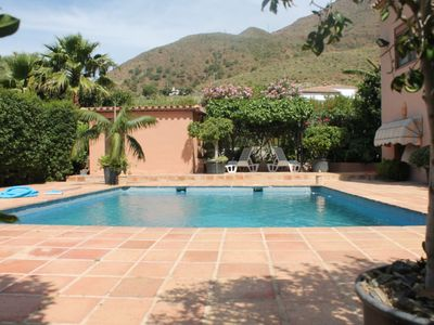 Photo for Lovely peaceful villa with pool in the countryside near Estepona and beaches