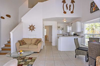 The interior is bright & airy to keep your spirits light & your worries at bay.