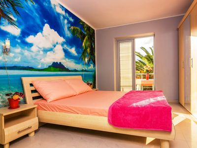 Photo for Exclusive 2 bedrooms apartment, 2 minutes walk to a sandy beach.