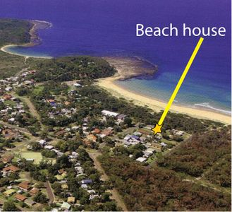 Photo for Beach House destination- One house from the south Broulee Beach. Top unit